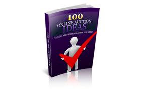100 Online Auction Ideas