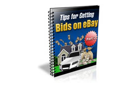 Tips For Getting Bids On Ebay Part 2