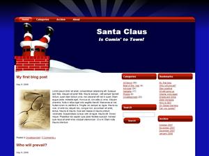Chimney Santa WP Theme