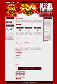 Christmas & New Year WP Theme Edition 1