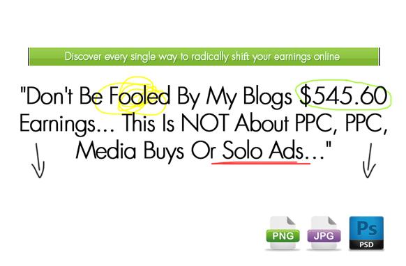 Awesome Marketing PSD Sales Headline Edition 18