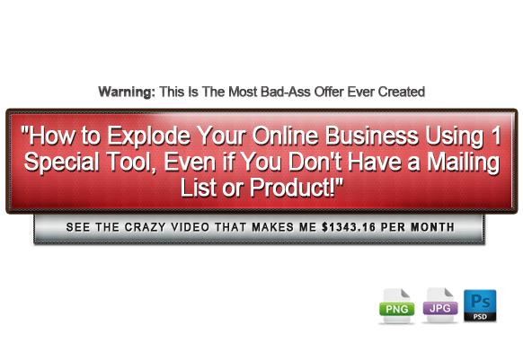 Awesome Marketing PSD Sales Headline Edition 34