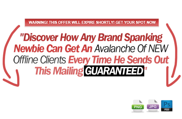 Awesome Marketing PSD Sales Headline Edition 38