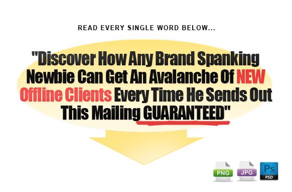 Awesome Marketing PSD Sales Headline Edition 39