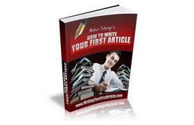 How to Write Your First Article