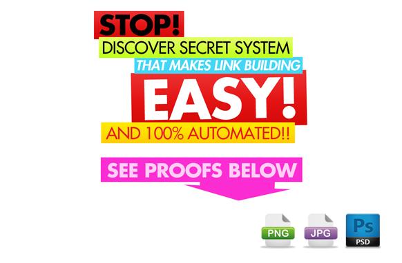 Awesome Marketing PSD Sales Headline Edition 63