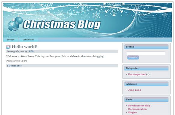 Christmas Niche WP Theme Edition 5