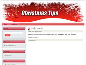 Christmas Niche WP Theme Edition 7