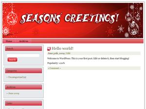 Christmas Niche WP Theme Edition 8