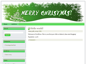 Christmas Niche WP Theme Edition 9