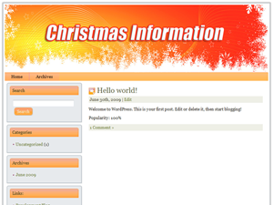 Christmas Niche WP Theme Edition 12