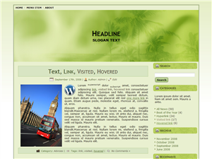 Green Theories WP Theme