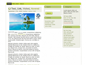 Green View WP Theme
