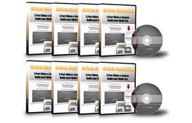 Article Marketing 5 Parts Video Ecourse