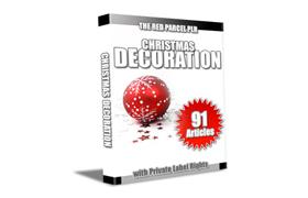 Christmas Decorations 91 PLR Articles