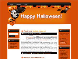 Halloween Blogger Theme Edition 1