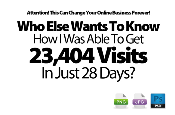 Awesome Marketing PSD Sales Headline Edition 75