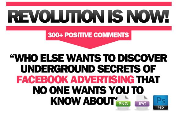 Awesome Marketing PSD Sales Headline Edition 80