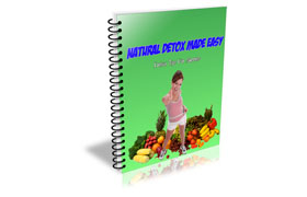 Natural Detox Made Easy Videos and Guide
