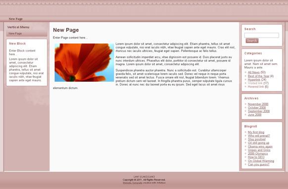 Kitchen HTML Template