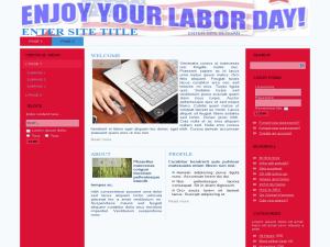 Labor Day WP Theme Edition 1