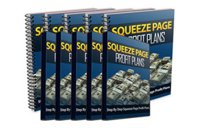 Squeeze Page Profit Plans Entire Series