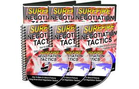 Surefire Negotiation Tactics Video Bundle
