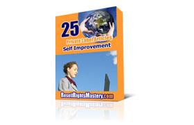25 PLR Self Improvement Articles