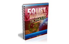 50 List Building Techniques