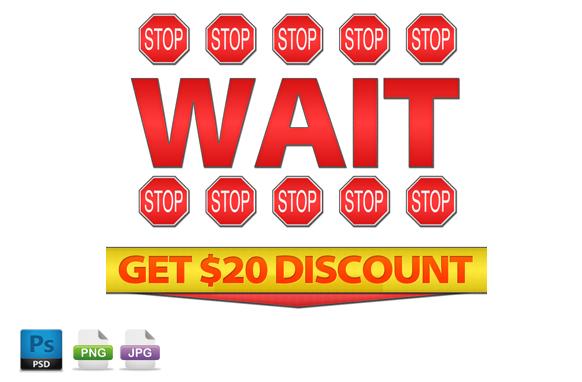 Exit Sales Headline PSD PNG JPG Edition 3