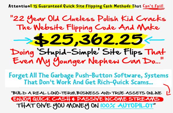 Flipping Cash Rockstar PSD Headline for WSO
