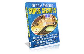 Article Writing Super Secrets