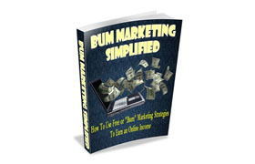 Bum Marketing Simplified