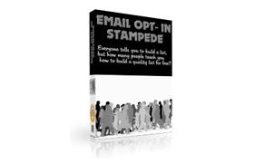 Email Optin Stampede