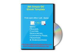 IMA Simple OO Ebook Template