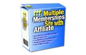 Multiple Memberships Site With Affiliate