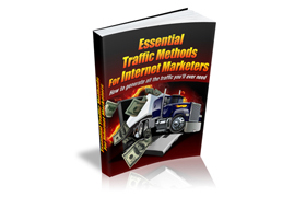 Traffic Methods For Internet Marketers