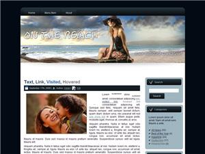 On The Beach Blogger Theme Edition 3