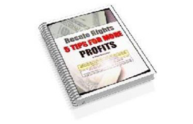 5 Tips For More Profits