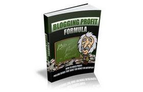 Blogging Profit Formula