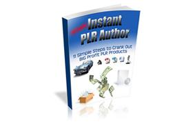 Instant PLR Author