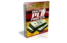 Instant PLR Profits