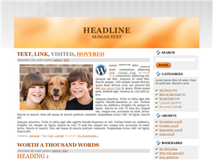 Orange River WP Theme
