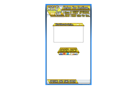 OTO Squeeze Page Templates Edition 5