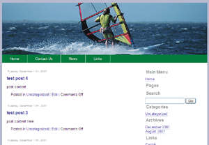 Sport Joomla Template Edition 2