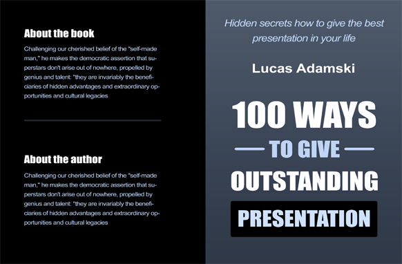 Project Book Cover Template PSD Edition 8