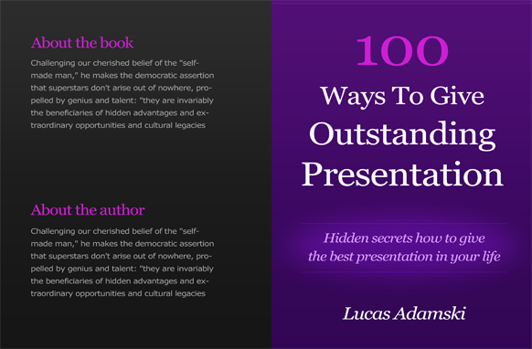 Project Book Cover Template PSD Edition 11