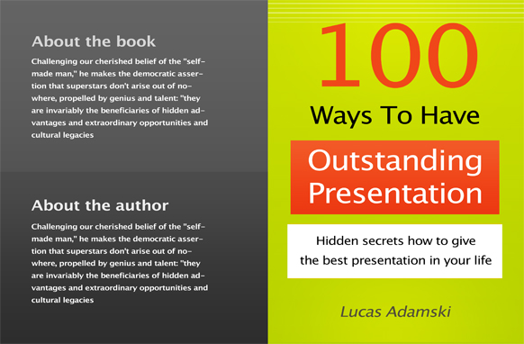 Project Book Cover Template PSD Edition 14