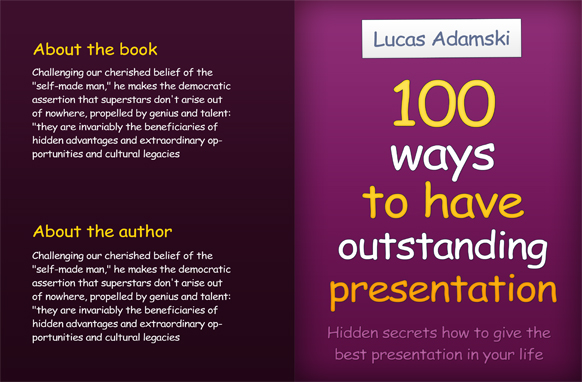 Project Book Cover Template PSD Edition 18