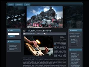 Steam Engine Blogger Theme Edition 1